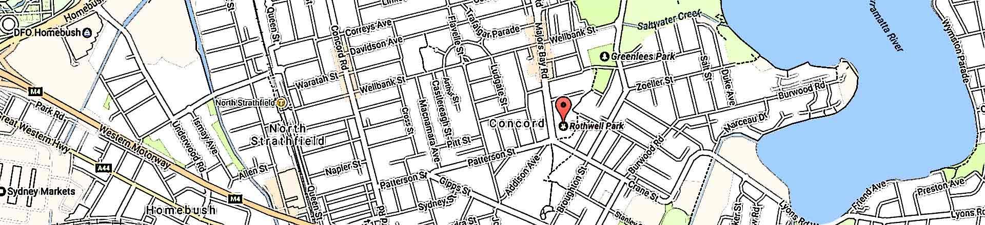Map of Briars Home Ground Rothwell
